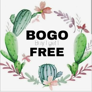BOGO deals on most items in my closet